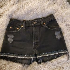 Furst of a kind Levi's denim shorts